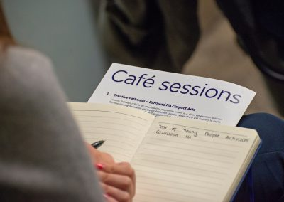 All our cafe sessions were a big hit.